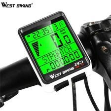 Bike Computer Five languages Multi-Functions Bicycle Speedometer Counter Wireles