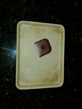 Pampered Chef Stoneware Classics Toaster Oven Small Bar Pan Cookie Sheet #10805