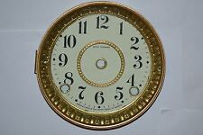 Antique Seth Thomas Dial Bezel Glass For Movement 3 5/8 And  Screws