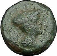 Lysimacheia in Thrace 309BC Rare Ancient Greek Coin Hermes Mercury  i49721