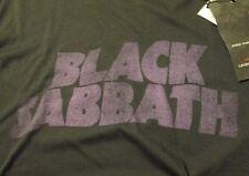 John Varvatos Star USA limited-edition Black Sabbath t-shirt, made in USA, new w