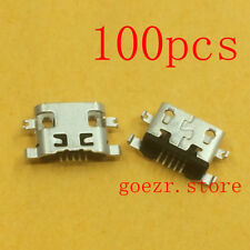 100 X New Micro USB Charging Sync Port For Alcatel One Touch PIXI GLORY A621BL