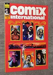 Comix International #4 NM Warren Magazine 1976 Rich Corben Cover & Art! Bronze