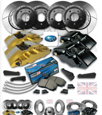"FITS SUBARU IMPREZA 17"" FRONT & REAR BRAKE KIT COMBO [5 X 100MM STUD PATTERN]"