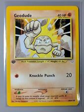 NM-M Geodude 1st Edition Neo Revelation Common 44/64 Pokemon