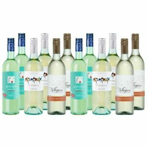 Super Cheap Moscato Sweet White Wine Mixed Tasting Bundle Case - 12 Bottles