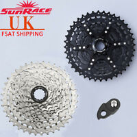 SUNRACE 9 Speed 11-40T Bike Cassette Wide Ratio MTB Flywheel fits Shimano Sram