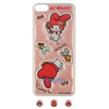 SANRIO HELLO KITTY MY MELODY IPHONE 5 PHONE PROTECTION STICK FOR BACK & BUTTON