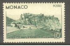 "MONACO STAMP TIMBRE N° 184 "" STADE LOUIS II 10F VERT 1939 "" NEUF xx SUP"