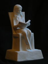 """12"""" Maquette, """"The Reading Girl"""", in Bronze"""