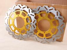 Sto Front Brake Disc Rotor Pair For Suzuki GSXR 600 750 08-09 GSXR 1000 09-11