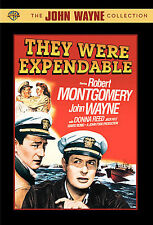 They Were Expendable (DVD, 2007) The John Wayne Collection 1945