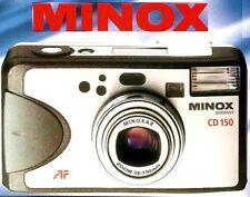 Minox Cd 150 35mm Camera Factory Brochure-from 2003