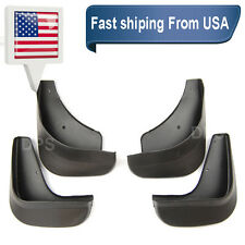 OE Front Rear 4 Pcs Fender Splash Mud Guards Flaps For 04-09 Mazda 3 Sedan 4D