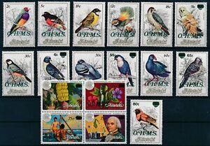 [P15628] Aitutaki 1985 : Birds - Good Set Very Fine MNH Official Stamps - $55