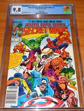 MARVEL SUPER HEROES SECRET WARS #1 – CGC 9.8 NM/MT (Canadian ; 1 of 10  ; White)