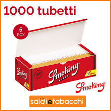 Macchinetta Riempi Tubi 1200 tubetti Tubi SMOKING con filtro SIGARETTE VUOTE