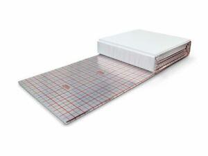 Rolljet für Fußbodenheizungen in verschiedenen Stärken Rollbahnen Tackerplatten