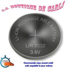 Accu 3.6v LiR2032 BATERIA ION LITIO RECARGABLE LIR 2032,piles batteries battery