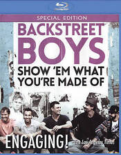 Backstreet Boys: Show Em What Youre Made Of Blu-ray Disc 2015 fast shipping