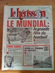 LE HERISSON n°1887 - 1981 - Humour - Mundial - Annie Cordy - HLM