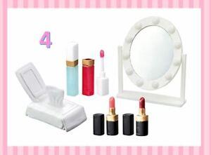 Re-Ment Miniature Petit Sample Makeup Dresser Cosmetic rement No.04