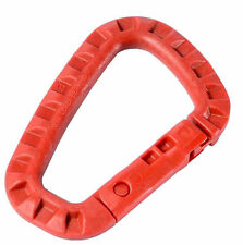 ITW Tac Link RED CLIP 1 EA TACTICAL ITW42R RING CARABINER free SHIP