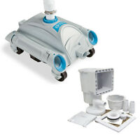 Intex Automatic Above Ground Pool Vacuum for Pumps 1600 - 3500 GPH & Skimmer Kit