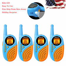 4×Retevis Rt35 Kids Walkie Talkie Frs/Gmrs 22Ch License-free Usb Charge Vox 2Way