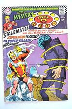 """House Of Mystery 1967 # 168 Vg Solid Martian Manhunter And Dial """"H"""" For Hero"""
