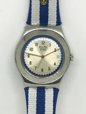 2001 Rare Swatch Watch Flying Time YLS415P Irony 10k made Ltd Vivienne Westwood