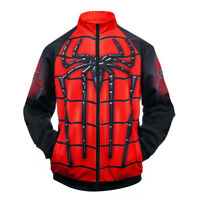 Avenger Endgame 3D Print Spiderman Sweatshirt Cosplay Costume Zipper Jacket Coat