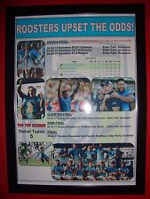 Sydney Roosters 2017 Nrl Auckland Nines winners - framed print