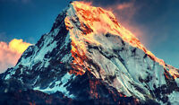 Framed Print – Mount Everest World's Tallest Mountain (Picture Poster Climbing)