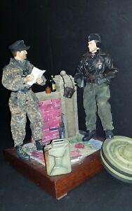 "1/6 WWII DID Dragon  ""Diorama **5** Tankistes Normandie"