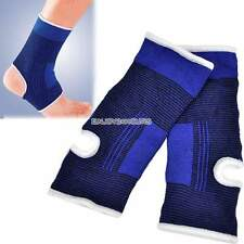 1 Pair Ankle Foot Protection Brace Guard Sports Support Breathable Gym En24h