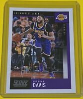 2019-20 Panini Chronicles Score Anthony Davis Los Angeles Lakers #617 CHAMP 🔥