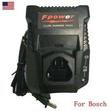 US Battery Charger For Bosch 10.8V - 12V Lithium Ion Battery BC430 BAT411 BAT412