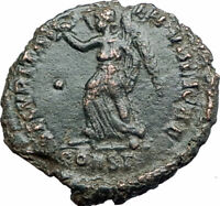 CONSTANS Constantine the Great son 337AD Ancient Roman Coin Victory  i80188