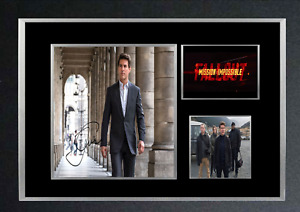 MISSION IMPOSSIBLE FALLOUT MOVIE AUTOGRAPHED MOUNTED PRINT