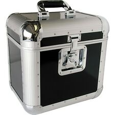 LP Record Vinyl Carrying Holder Storage Tote Case Eurolite LP-70 Silver New