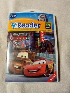 VTech V Reader Cars 2 Disney PIXAR E Reading Game Ages 4-6  Sealed New