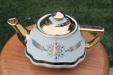 Hall China BALTIMORE TEAPOT....IVORY GOLD LABEL...downsizing PREMIER collection!