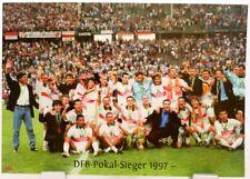VfB Stuttgart + DFB Pokal Sieger 1997 + Fan Big Card Edition F115 +