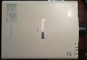 Panasonic PT-DW530 Projector, Used, Works, Comes With Remote and Power Cord