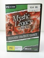 Mystic Legacy The Great Ring Horror Vampire Castle Adventure PC Game