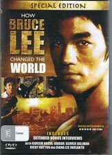 HOW BRUCE LEE CHANGED THE WORLD Special Edition DVD - NEW + SEALED Free Post