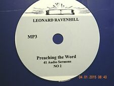 LEONARD RAVENHILL, NO. 2, 41 AUDIO SERMONS ON 1 CD, MP3