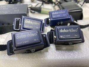 DATAVIDEO TALLY LIGHT SYSTEM - 6 LIGHTS