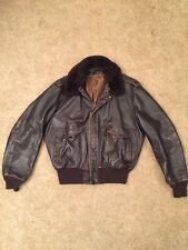Vintage Schott Bomber Leather Flight Jacket